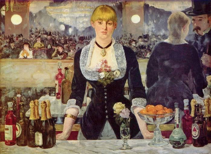A Bar at the Folies-Bergère (Un Bar aux ...