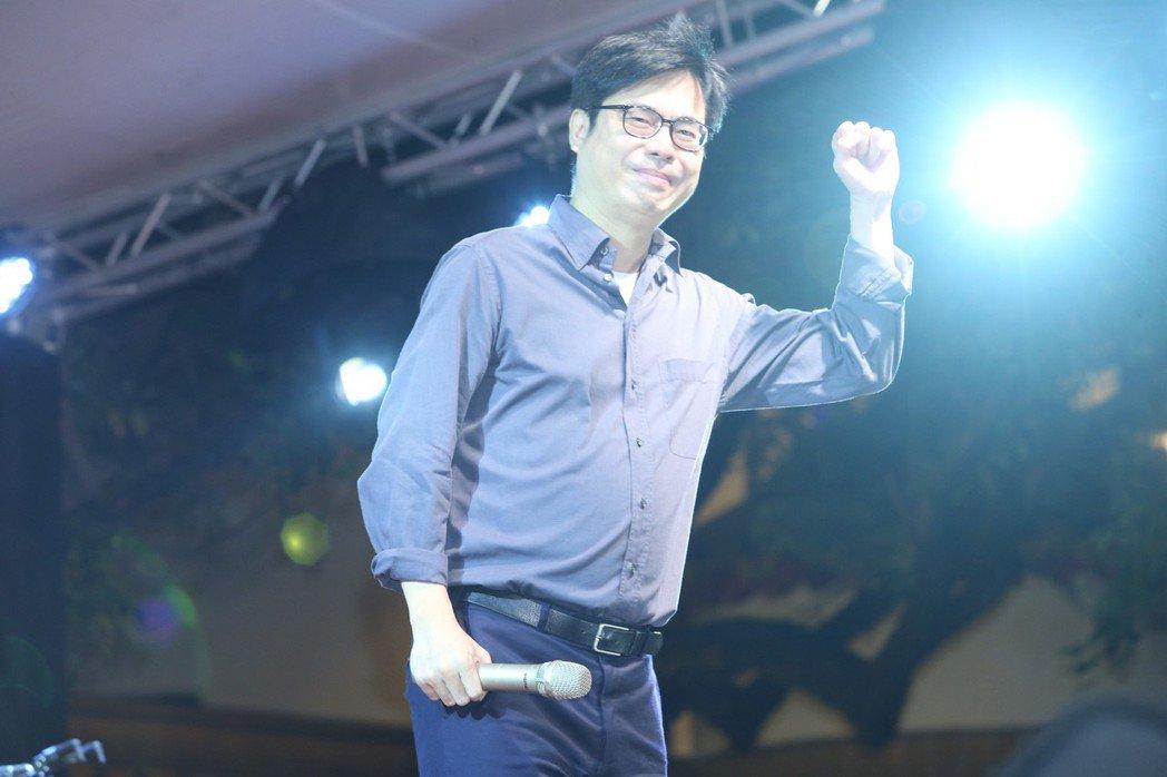 行政院副院長陳其邁相信會有再見到「大港開唱」的一天。圖/聯合報資料照