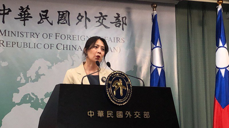外交部發言人歐江安。聯合報系記者張文馨/攝影