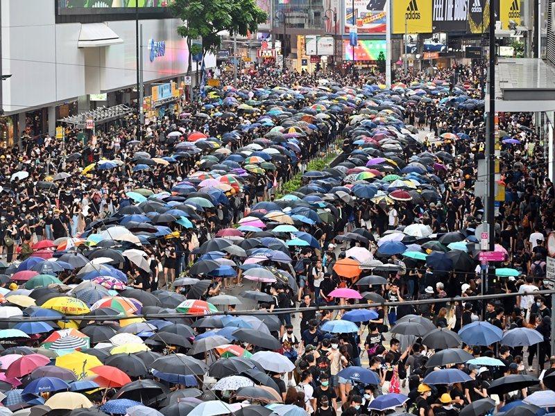 警方向民陣遊行發出反對通知書。圖:取自星島日報網站