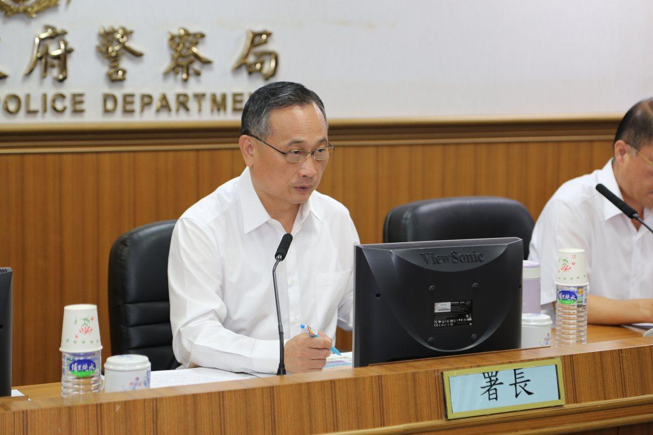 警政署長陳家欽。圖/警方提供