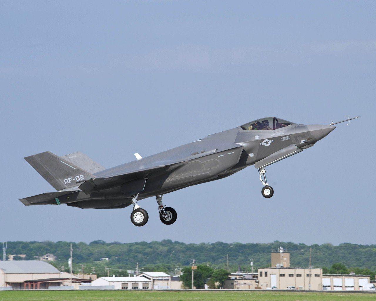 日本自衛隊的F-35戰機。路透