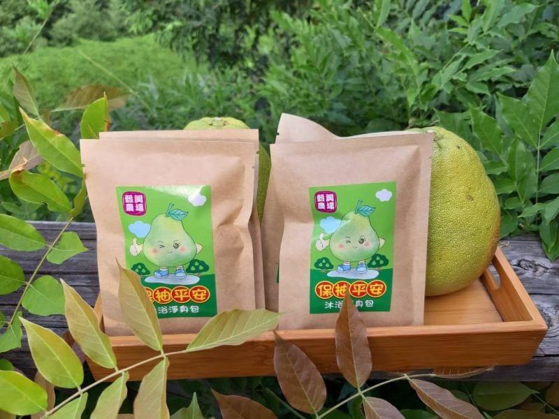 保柚平安柚子加工品近照。圖/新北市農業局提供