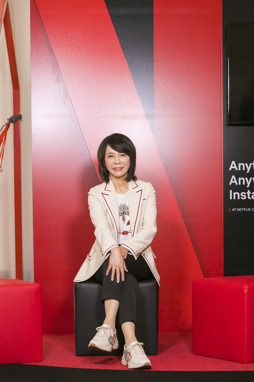 偶像劇教母柴智屏(右)參加第14屆亞洲電視劇大會,分享「流星花園」成功經驗。圖/...