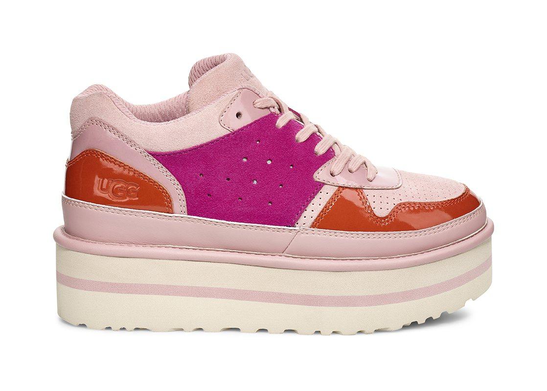 Fashion Baby系列Pop Punk粉色鞋款,售價5,500元。圖/UG...