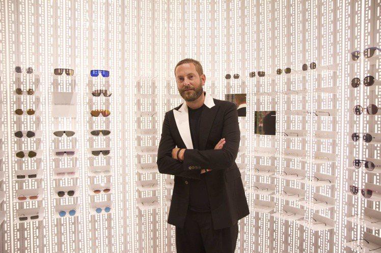 MYKITA品牌創辦人Moritz Krueger先生,為了台北專賣店開幕來台。...