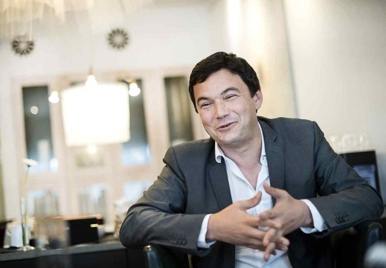法國知名經濟學家皮凱提(Thomas Piketty)。(圖/路透)