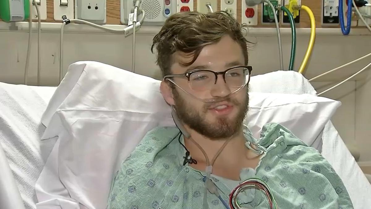 美國伊利諾州18歲少年赫根瑞德抽了約兩年電子菸,8月底因肺衰竭住進加護病房。NB...