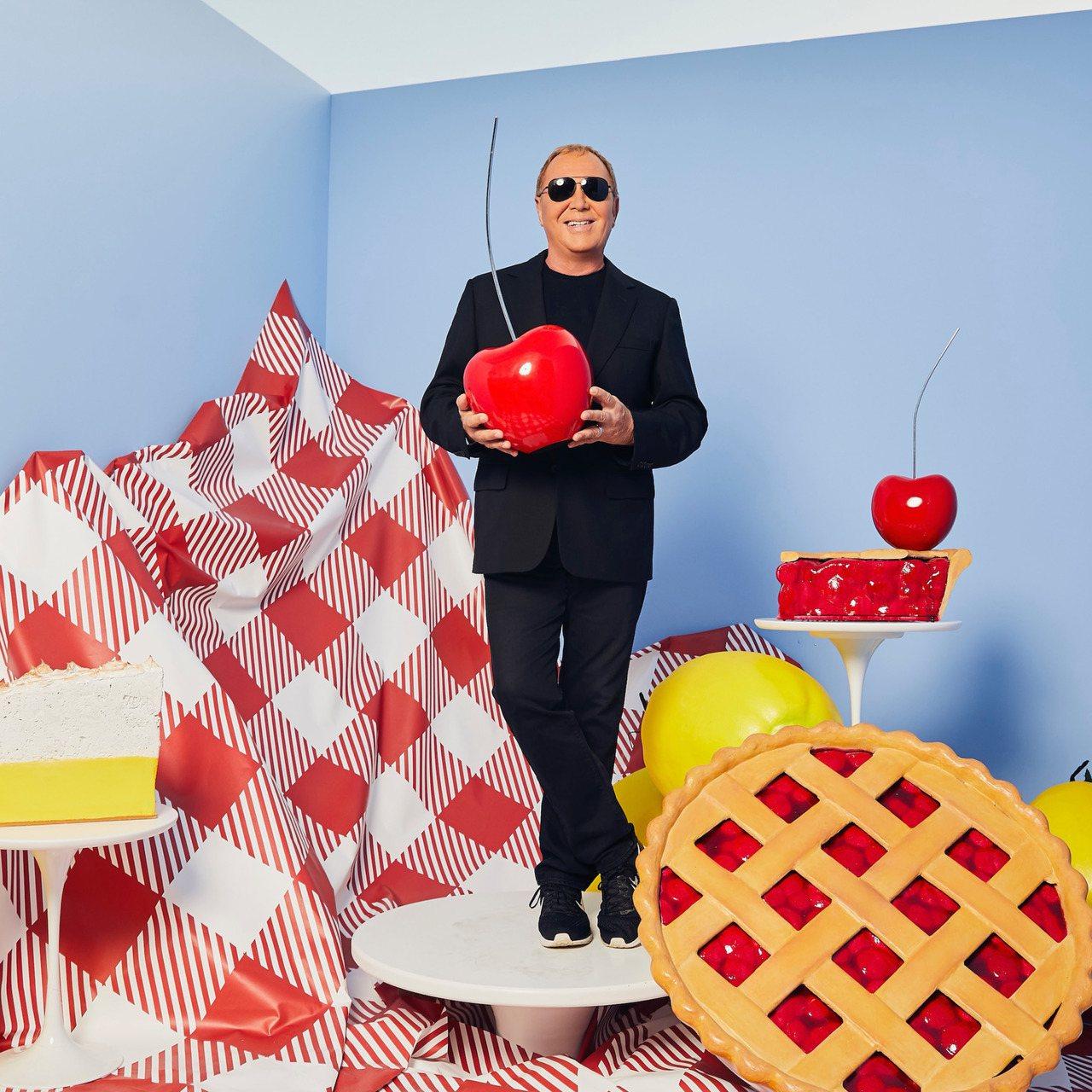 設計師Michael Kors在大秀上以「美國派」作為襯底音樂。圖/MICHAE...