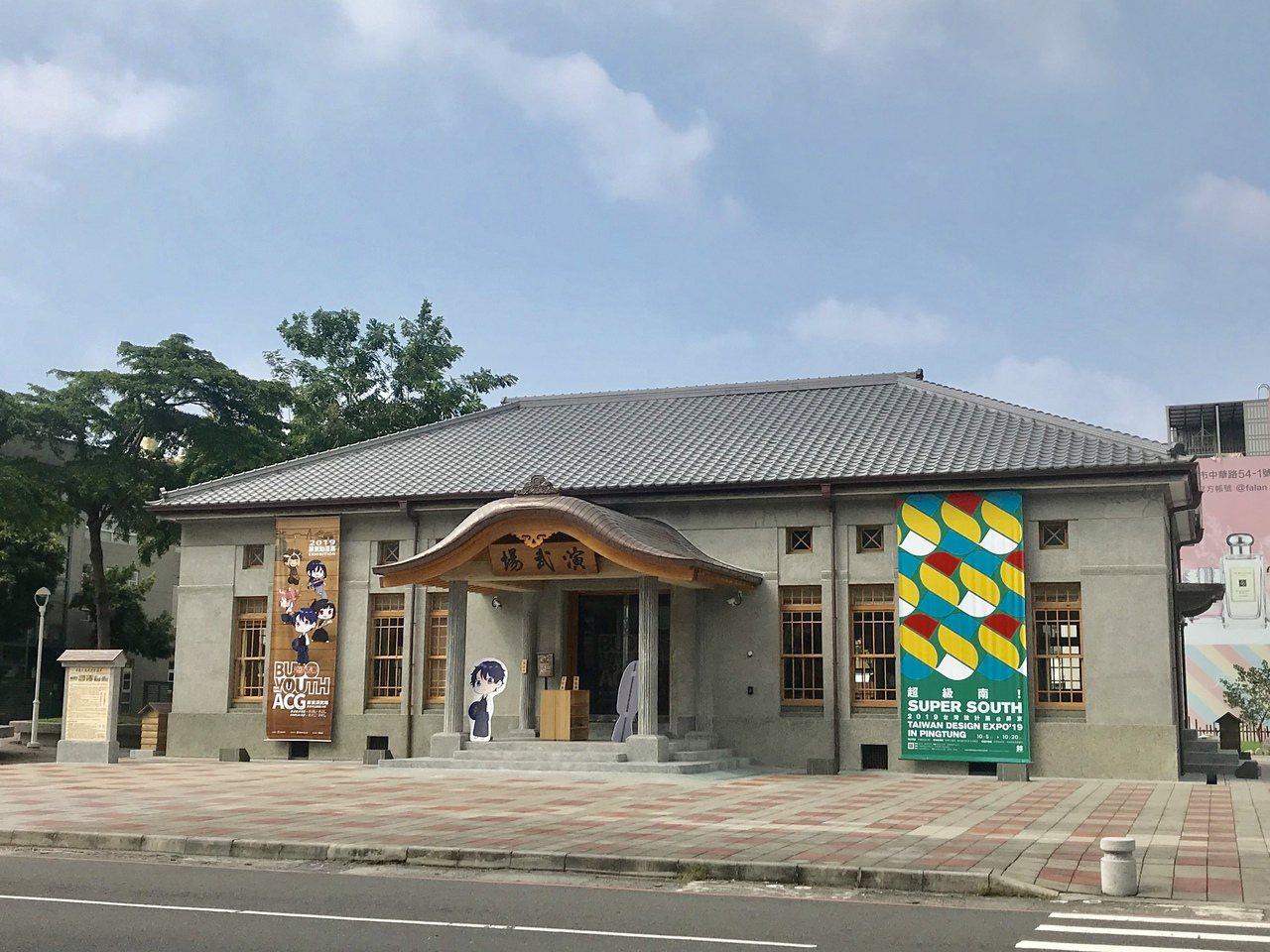 屏東日據時期建築武德殿,歷時2年整修,今年8月正式對外開放。記者江國豪/攝影