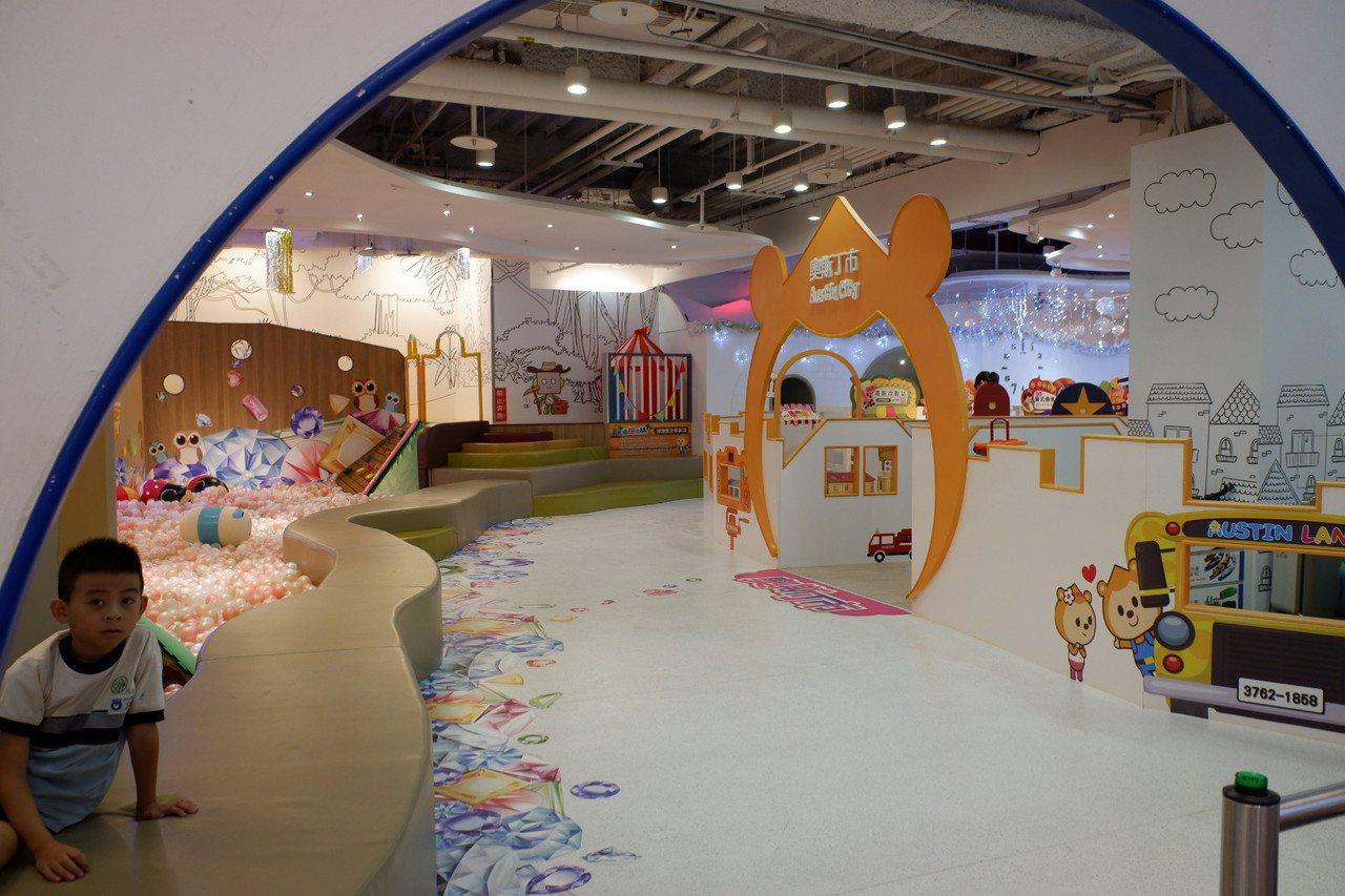 除了「BabyBoss」外,目前京華城其他兒童業種品牌暫時無異動。記者江佩君/攝...