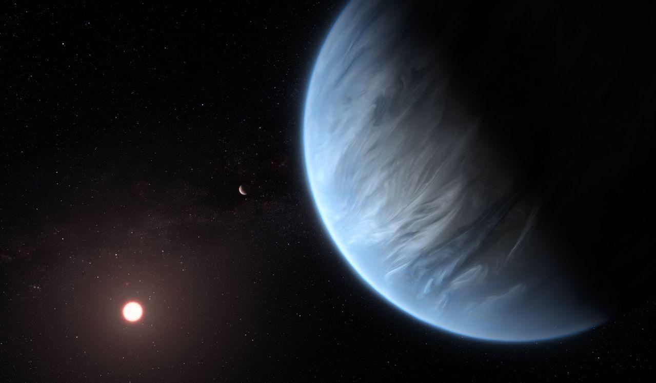 新研究報告顯示,天文學家首度發現太陽系外行星K2-18b有水,且溫度適宜,可能讓...
