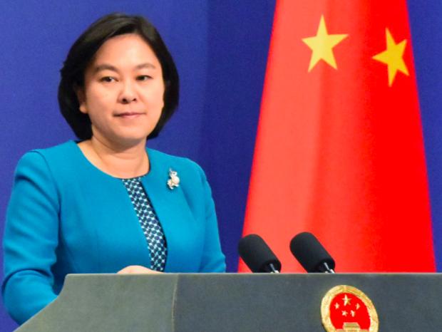 針對美國官員警告索羅斯勿和中共建交,中共外交部發言人華春瑩表示,這種行徑不可理喻...