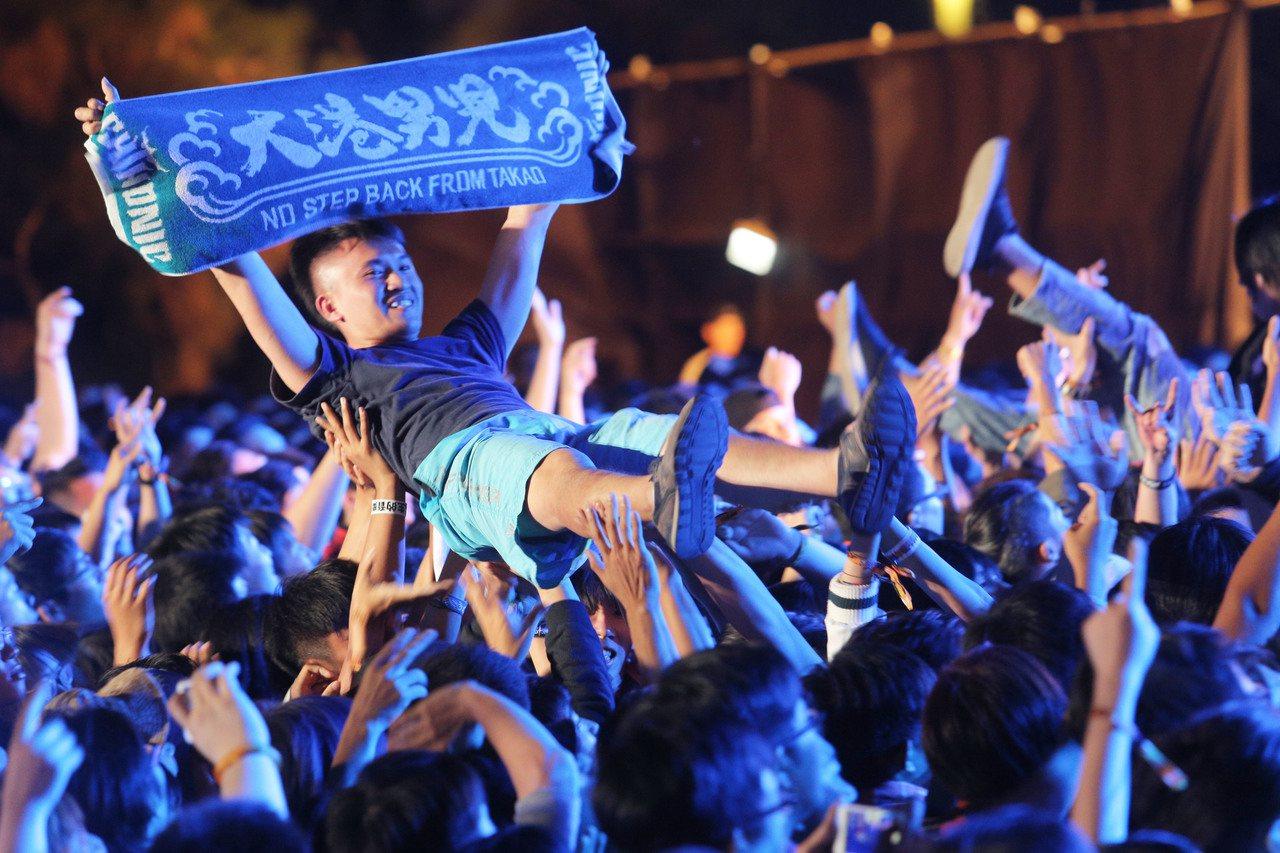 在高雄舉辦多年的「大港開唱」宣布明年起將停辦,引起熱議。 圖/聯合報系資料照片