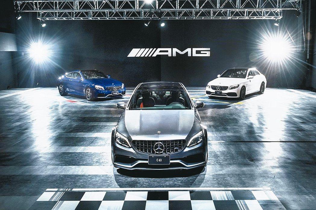 Mercedes-AMG C 63正式在台發表,建議售價為新台幣497萬元起。 ...