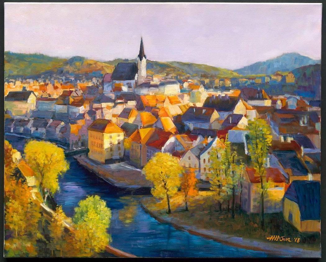 《千年小鎮》捷克小鎮庫倫諾夫的12世紀風光,未曾受到戰火摧毀,原汁原味保存。孫心...