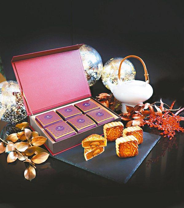 大倉久和餡料頂級的久和禮讚典藏禮盒。 圖/大倉久和大飯店提供