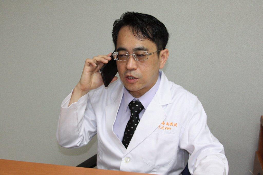 林口長庚醫院臨床毒物科主任顏宗海。 記者曾增勳/攝影