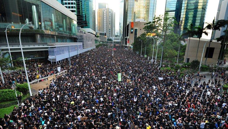 香港616反送中大遊行。 圖/商業周刊程思迪