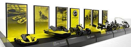 BRP發表6款EV概念機車! 連水上摩托車也是電動的