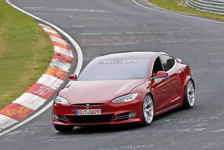 Tesla間接承認贏不了Porsche Taycan的紐柏林紀錄?