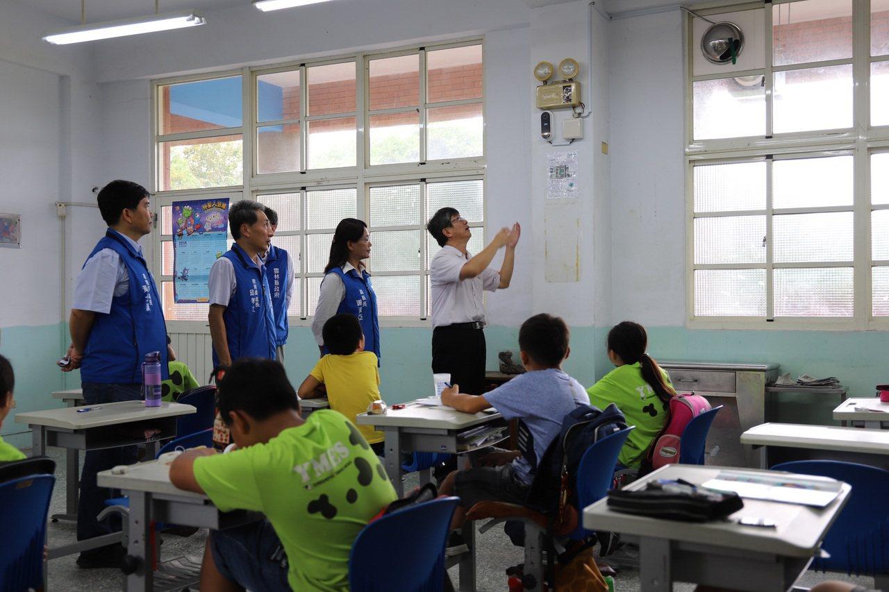 雲林麥寮、崙背、二崙3鄉鎮22所小學,獲得中央補助設置「新風系統」改善空氣品質,...