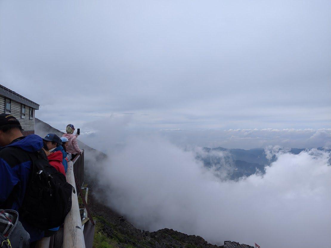 每年爬富士山的人很多,但要攻頂並不容易。記者楊德宜/攝影