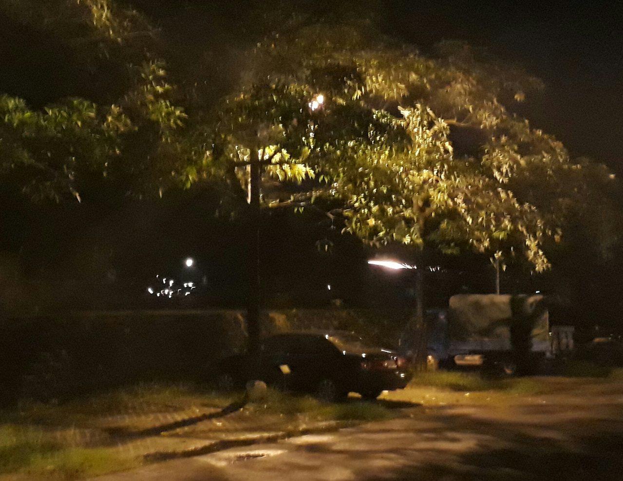 凌晨成群年輕人騎機車隨處放鞭炮、沖天炮朝人射擊。圖/讀者提供