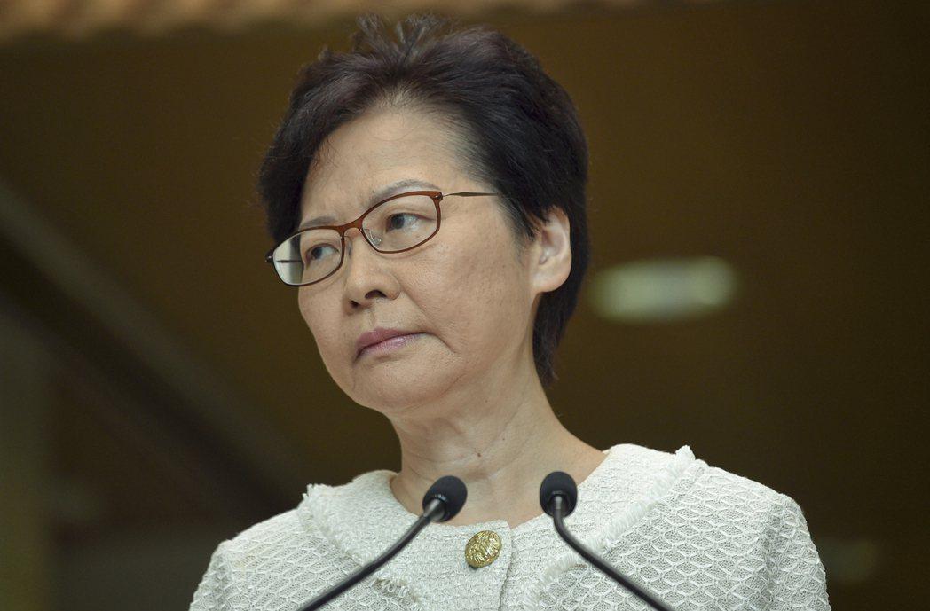 林鄭月娥稱,港府被多家國際公關公司拒絕。圖:取自星島日報網站