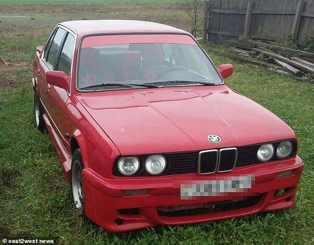 報導指出,事發車輛型號為BMW E34。每日郵報/East2west News