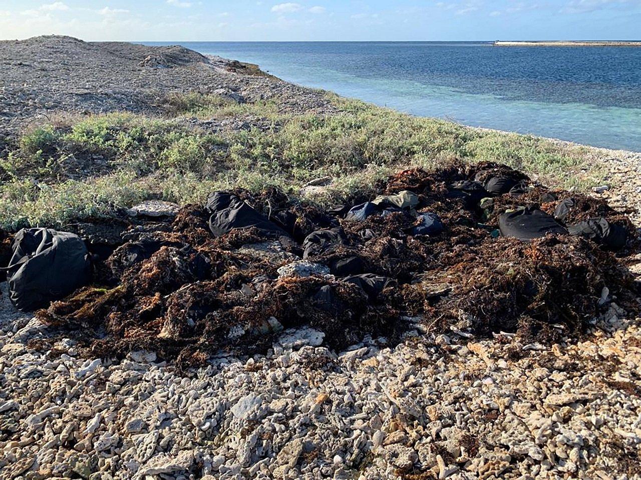 澳洲西澳省警方9月初破獲一樁海上運毒案,嫌犯將40袋甲基安非他命、古柯鹼和搖頭丸...