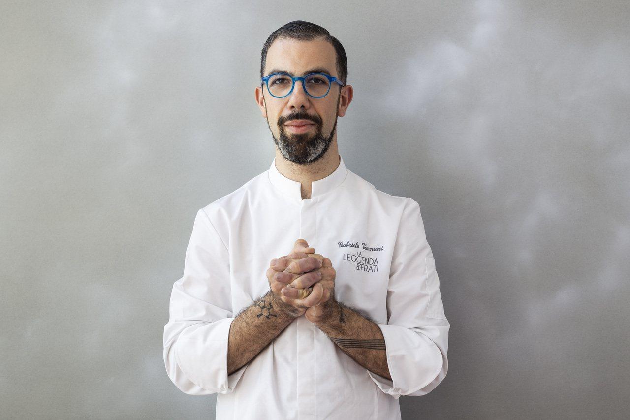 義大利佛羅倫斯米其林一星餐廳La Leggenda dei Frati甜點主廚G...