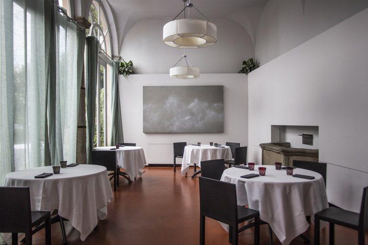 義大利佛羅倫斯米其林一星餐廳La Leggenda dei Frati,座位數少...