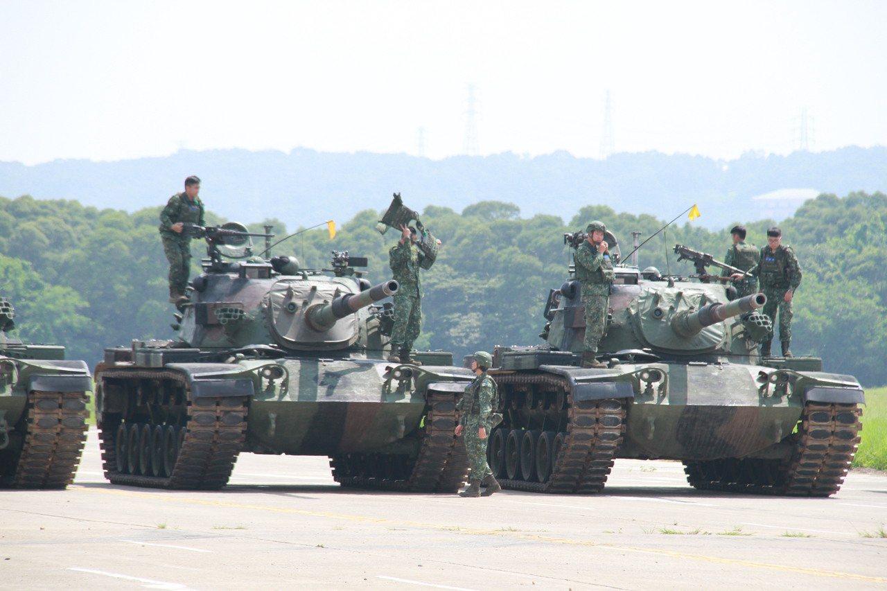 CM11勇虎戰車。記者洪哲政/攝影