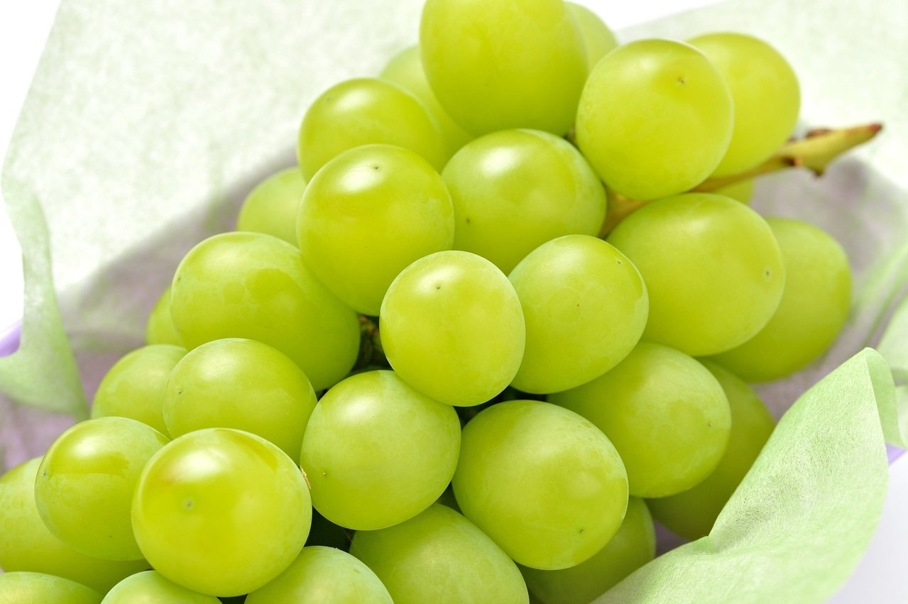 誠品生活號JPMOMO麝香葡萄,1,650元,假日限定。圖/誠品提供