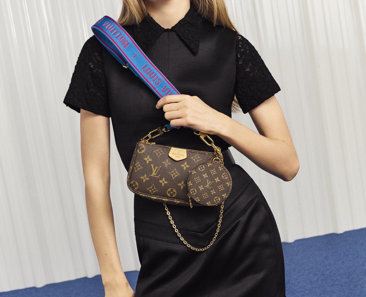 Multi Pochette Accessoires手袋將於10月之後在全球路易...