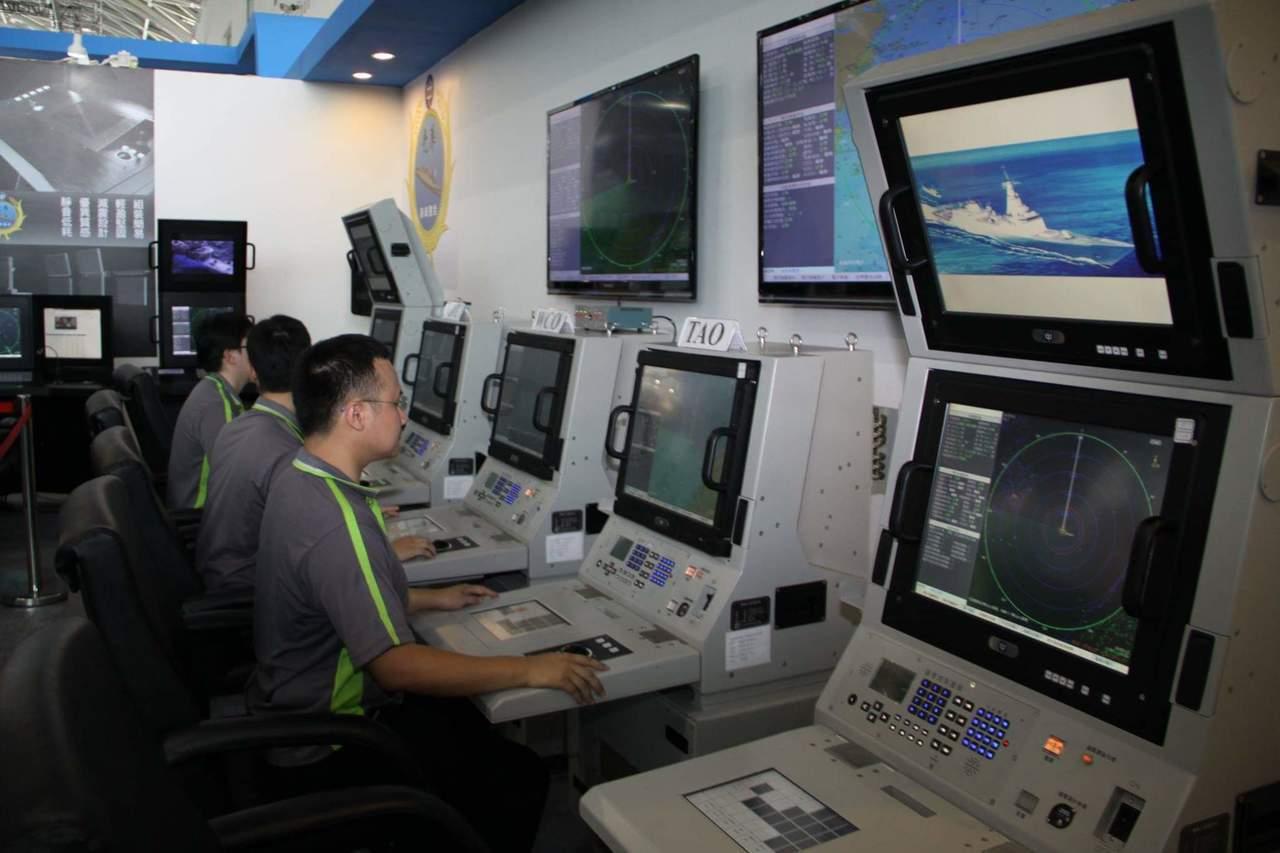 海軍建造新一代巡防艦原型艦,中科院「迅聯」科研案進度延緩一年,因此新一代巡防艦原...