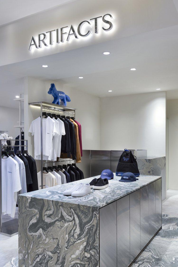 複合店ARTIFACTS在台北SOGO忠孝店開設新櫃。圖/ARTIFACTS提供