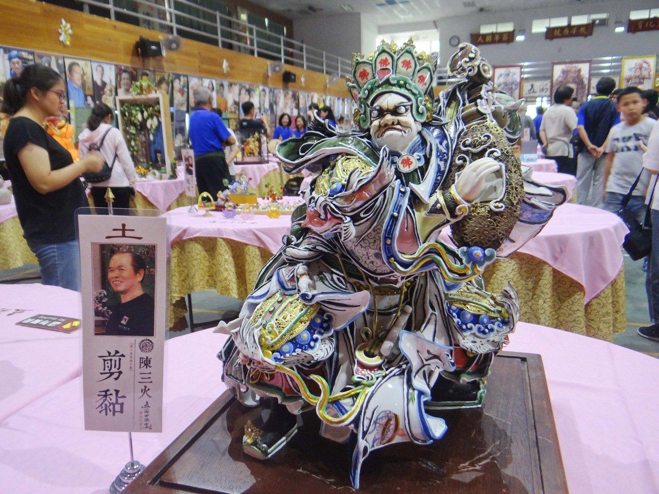 北港五湖四海宴民間工藝展 日本京都學者讚不絕口