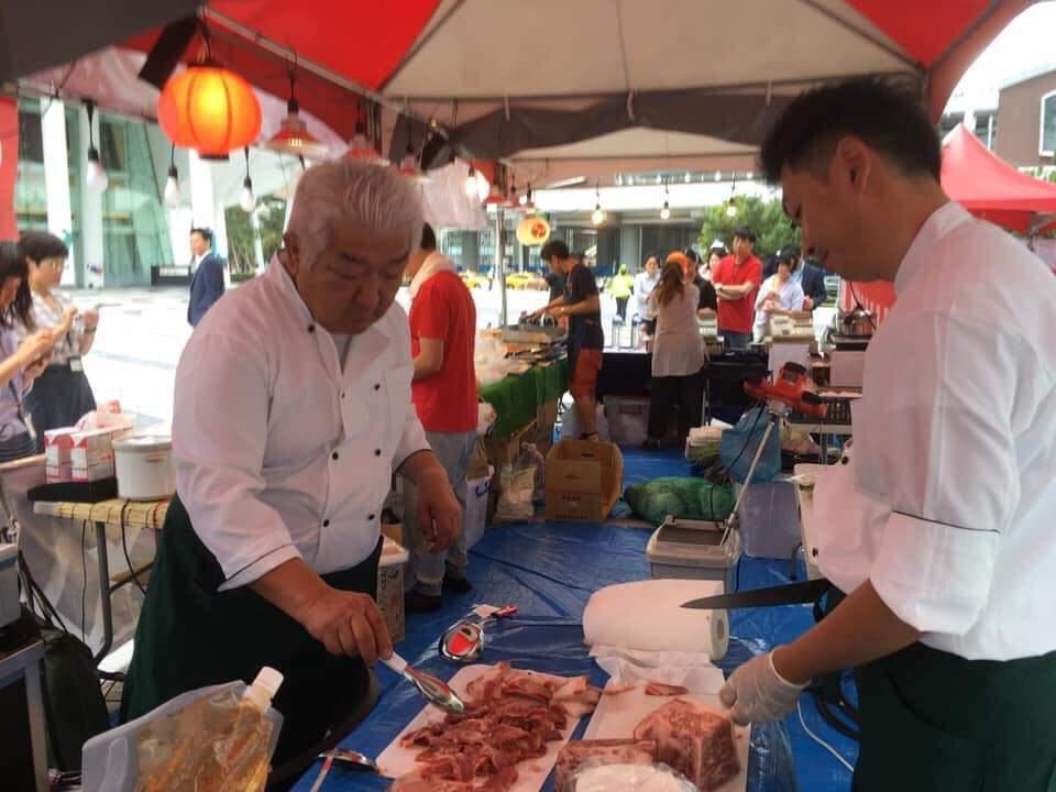 「熱情九州好食市集」可品嚐九州當地美食。圖片取自活動臉書專頁。