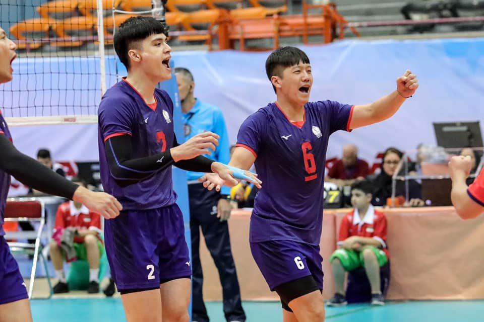 中華男排不敵日本隊,分組第二晉級八強。 亞排協(AVC)