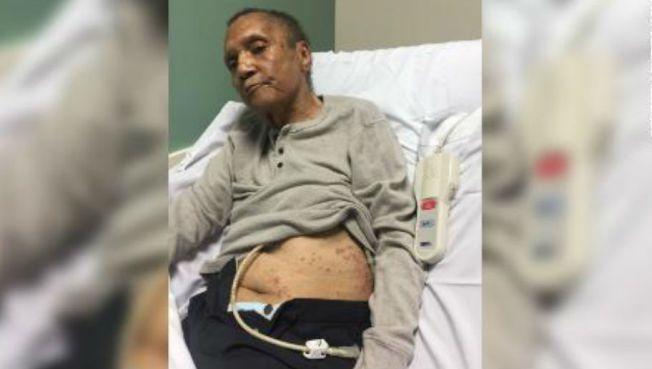74歲的越戰退伍軍人馬拉博7日死在喬治亞州的退伍軍人事務部 (VA)療養院,身上...