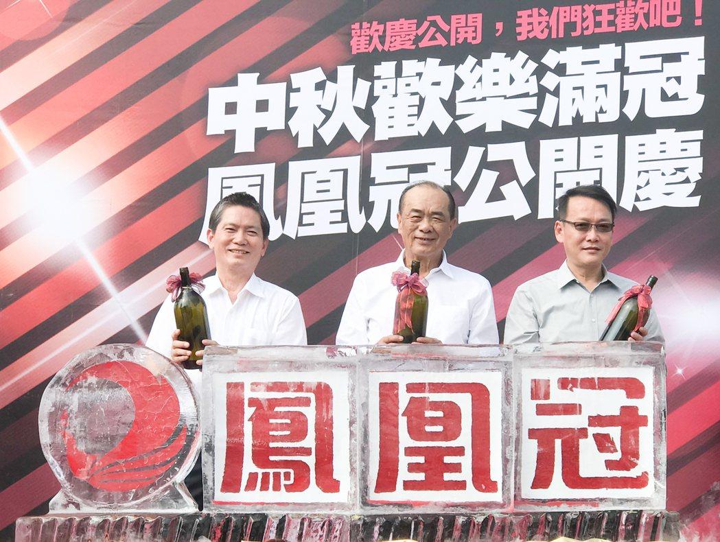 隆大「鳳凰冠」在中秋節當天公開,甫銷售即賣了60戶,平均一天賣1戶。 攝影/張世...