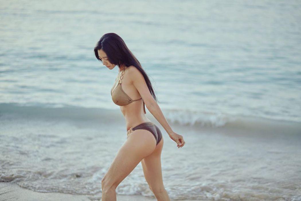 李成敏擁有傲人好身材。圖/擷自instagram。