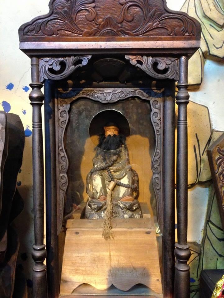 田中鎮順天宮供奉1尊12寸玄天上帝,地方耆老說是台灣唯一來自武當山的三帝爺神像。...