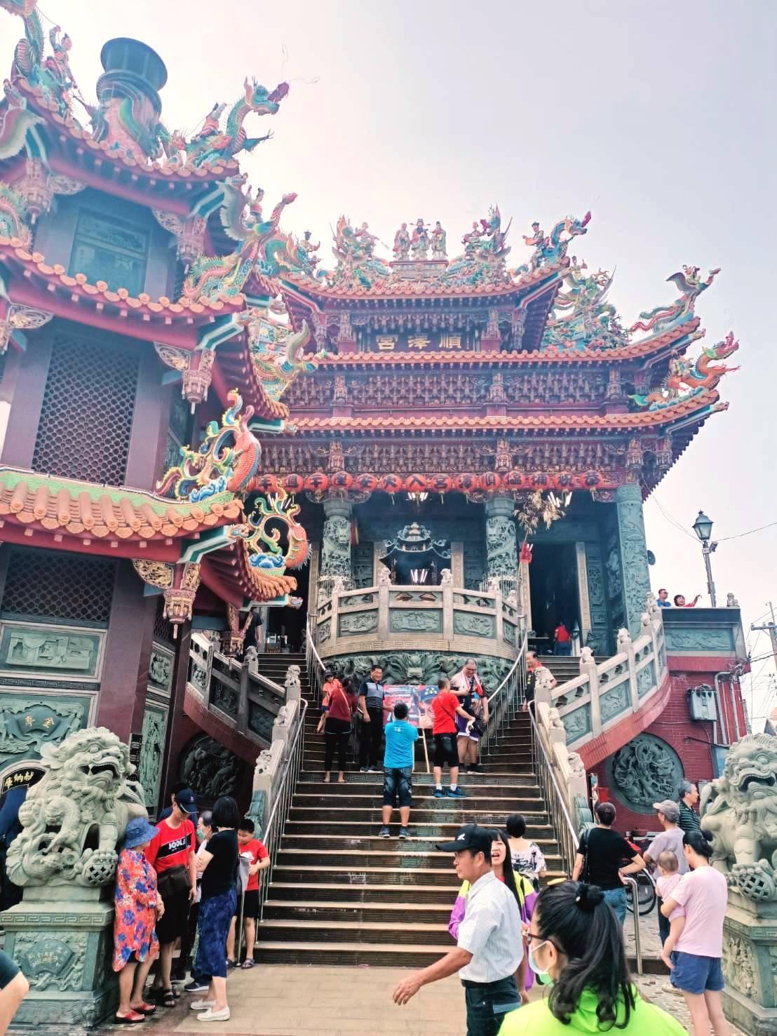 埔鹽順澤宮原是1座很普通的奉祀玄天上帝角頭廟宇,如今一夕爆紅。記者何烱榮/攝影