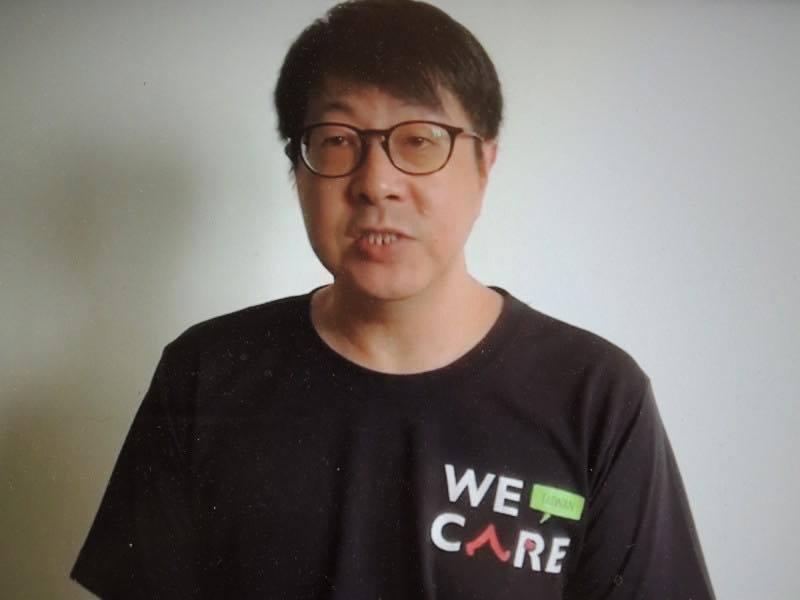 「Wecare高雄」發起人尹立表示,「恁爸等你的連署書」。圖/摘自Wecare高...
