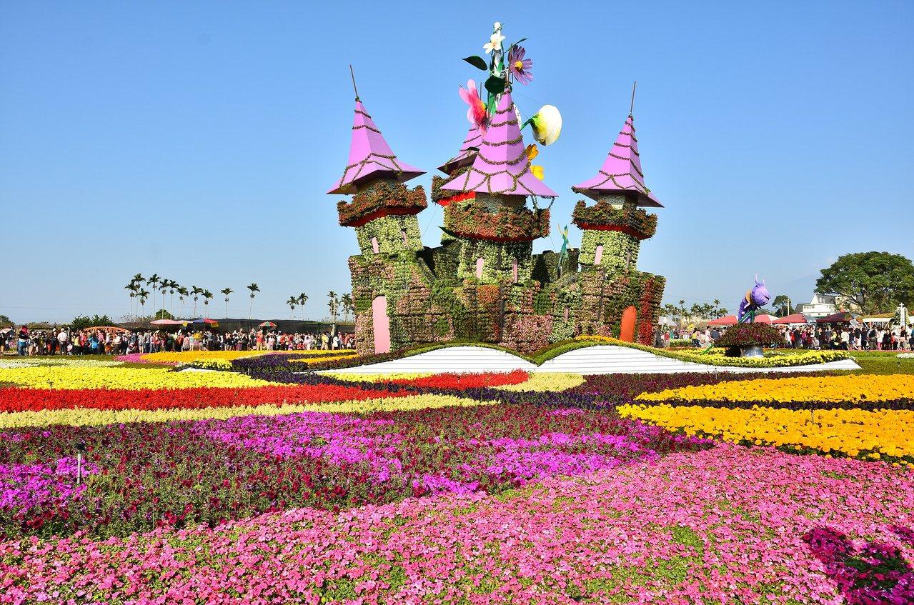 台中國際花毯節。圖/台中市政府提供