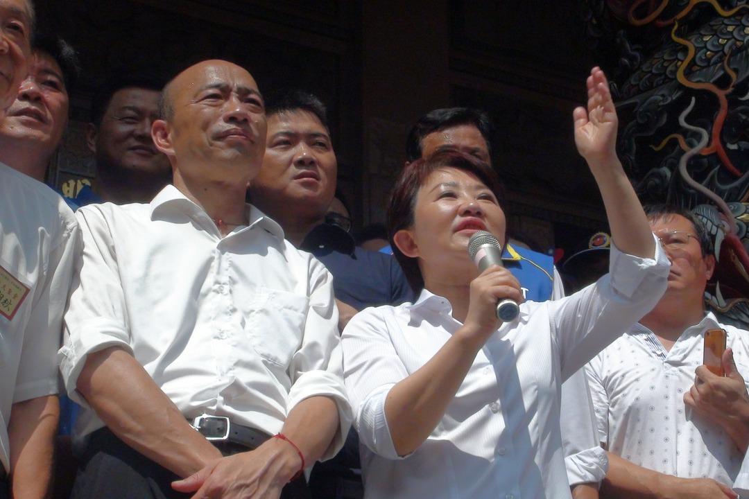 洪慈庸轟韓盧「墊底市長」合體 謊話惹毛更多台灣人
