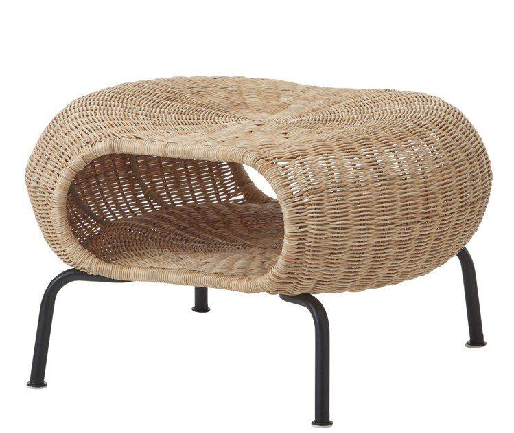 IKEA GAMLEHULT收納椅凳,售價2,490元。圖/IKEA提供
